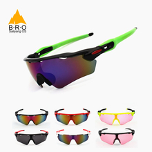 Hot! UV400 Cycling Glasses Outdoor Sports Bicycle Glasses Bike Sunglass