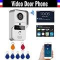 720 P HD Smart Wifi Беспроводной Видео-Дверной Звонок 5 ШТ. RFID Брелков Дистанционного домофон Разблокировать IP Видео-Телефон Двери для iOS Android Телефон ПК
