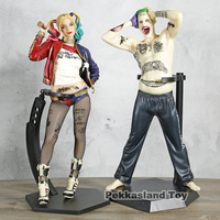Crazy Toys Suicide Squad Joker / Harley Quinn Action Figure PVC Doll Anime Collectible Model Toys