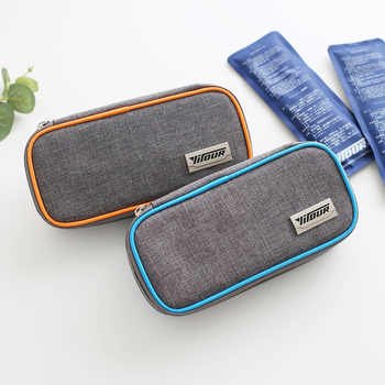new Medical cooler bag Insulin portable refrigerated box Drug insulated bag ice bag Environmentally 1 box of 2 ice packs - DISCOUNT ITEM  15% OFF All Category
