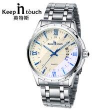 KEEP IN TOUCH Luxury Watch Men Quartz Luminous Calendar High