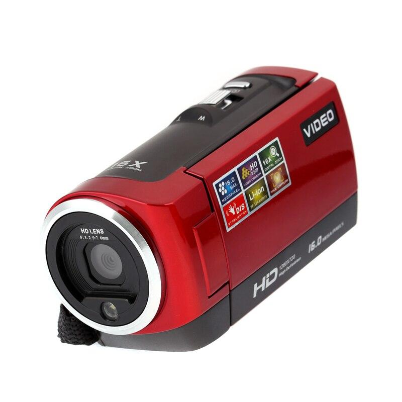 HD 720P Sigital Camcorder HDV Video Digital font b Camera b font 16MP 16x Zoom COMS