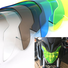 Acrylic Plastic Front Headlight Screen Lamp Lens Cover Protector Guard for 2017 2018 Honda CBR650F CB600R CB500X