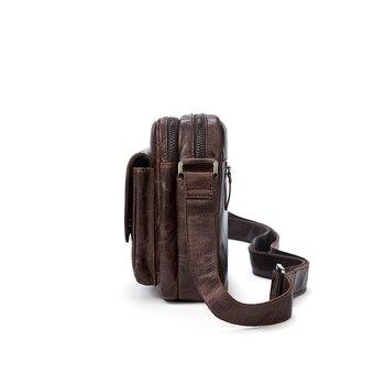 Herren Umhängetasche | WESTAL Messenger Tasche Männer Schulter Taschen Aus Echtem Leder Männlichen Schulter Tasche Für Männer Leder Handtasche Umhängetaschen Für Männer 8931