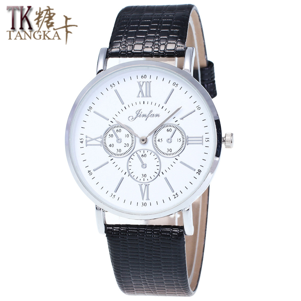 Geneva Fashion New Roman Numerals Men And Women Business Watches Simple And Elegant Luxury Dress Quartz Watches Bracelet