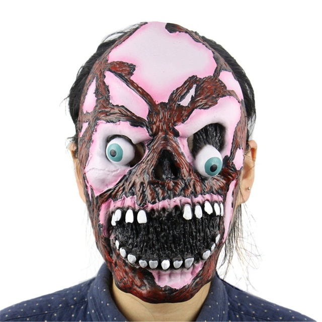 13 Types Masquerade Halloween Horror Mask Adult's Cosplay Realistic Latex Creepy Party Scary Mask Halloween Costume Mascarillas 1