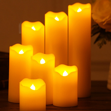 Flameless LED Halloween/christmas-Candles Light-Lamp Decoration Candle-Flicker Battery-Powered