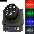 6*15W RGBW 4-In-1 LED Mini Bee Eye Beam Light DMX512 LED Moving Head Light DJ/Fest/Home /Show /Bar/Stage /Party Light Stage