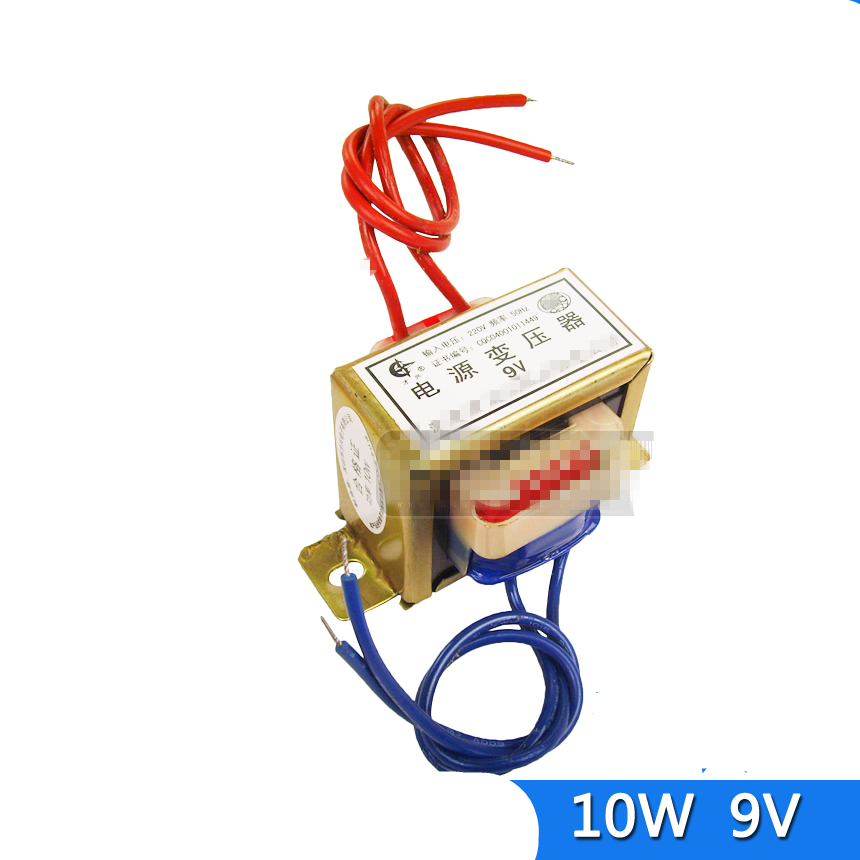 (1)EI 48*24 AC 6V 9V 12V 18V <font><b>24V</b></font> Output Voltage 10W EI Ferrite Core Input <font><b>220V</b></font> 50Hz Vertical Electric Single Power <font><b>Transformer</b></font> image