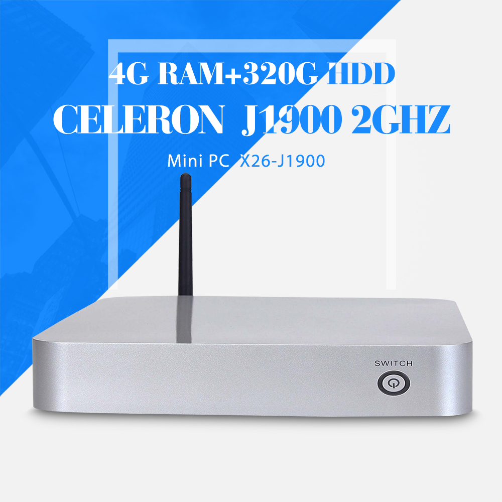 celeron J1900 4g ram 320g hdd wifi computer networking thin client computer support touch screen desktop