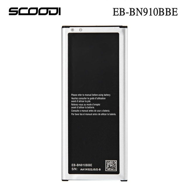 Original SCOODI 3220mAh Capacity Battery For Samsung Galaxy Note4 N910R / N910T / N910A EB-BN910BBE Replacement Battery with NFC