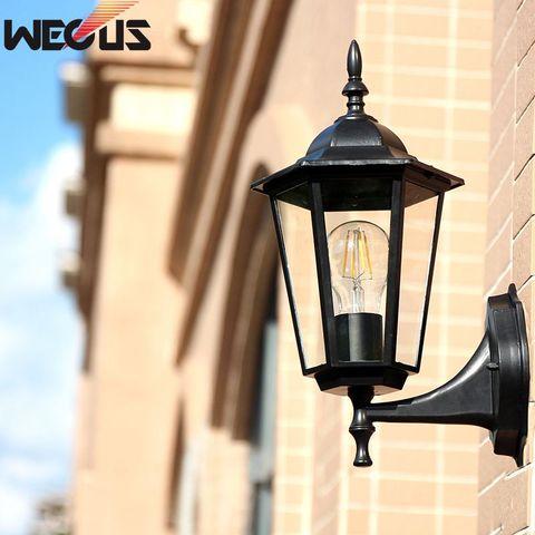 wecus estilo europeu da parede antiga patio