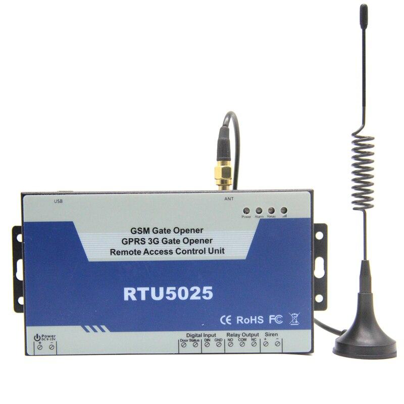 3g Ouvre-porte Battante Coulissante Porte de Garage Télécommande Quadri-Bande Usine Vendre L'appui GPRS Communiquer RTU5025W