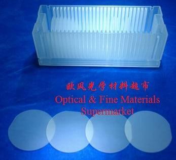 Сапфир Substrate-Al2O3 один кристаллическая подложка-оконный лист-эпитаксии покрытие-ИК-светодиодный уровня-на одной стороне Parabolization
