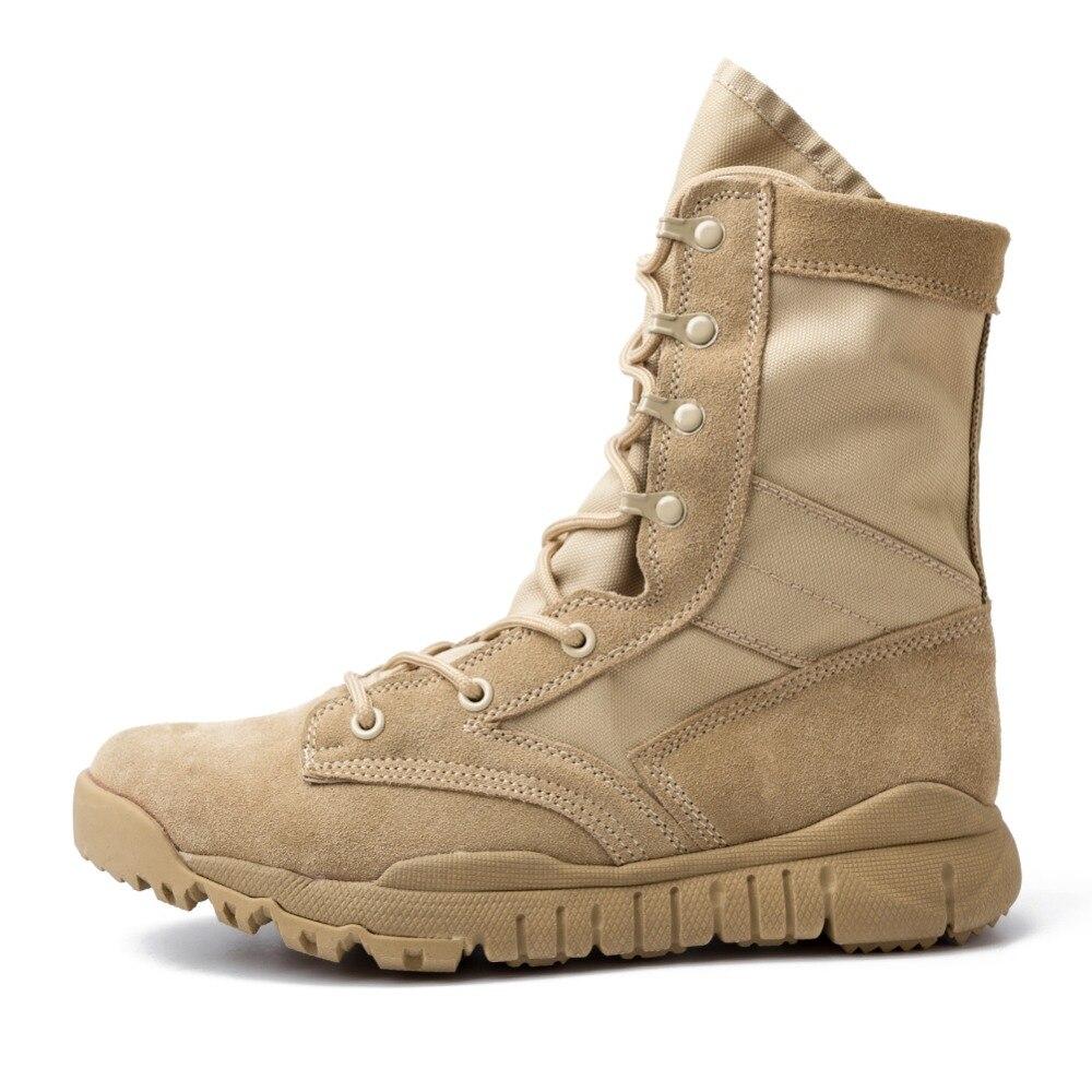 Combat Désert Spéciale Force Militaires Armée Chaussures Cheville Air En De Plein Hommes Tactique Travail Brown Bottes aOqwUX
