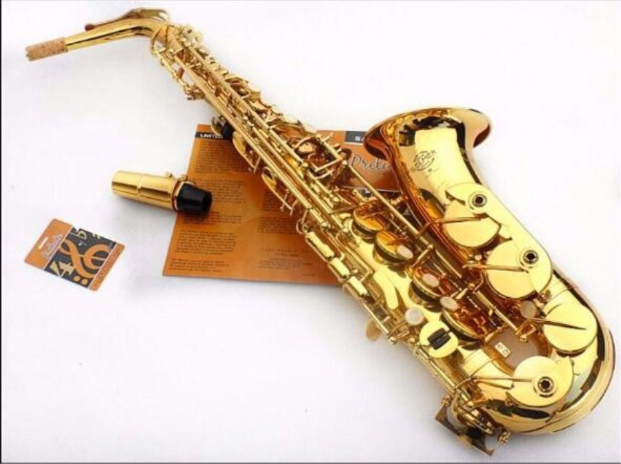 2018 Hot sax SELMER 54 Alto saxophone Eb musical instrument  saxophone profissional  electrophoresis Gold saxophone instrument musical instrument repair tools for saxophone flute clarinet repair