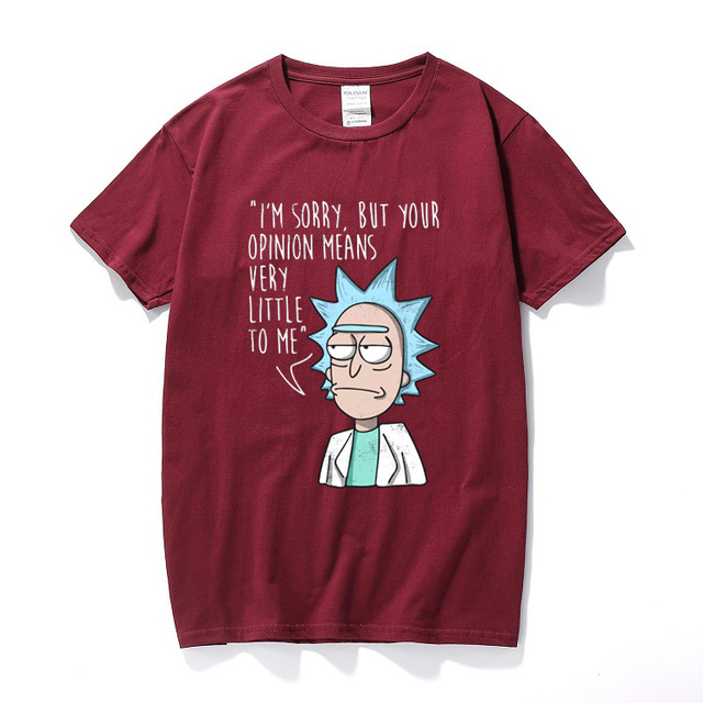 RICK AND MORTY THEMED T-SHIRT (10 VARIAN)
