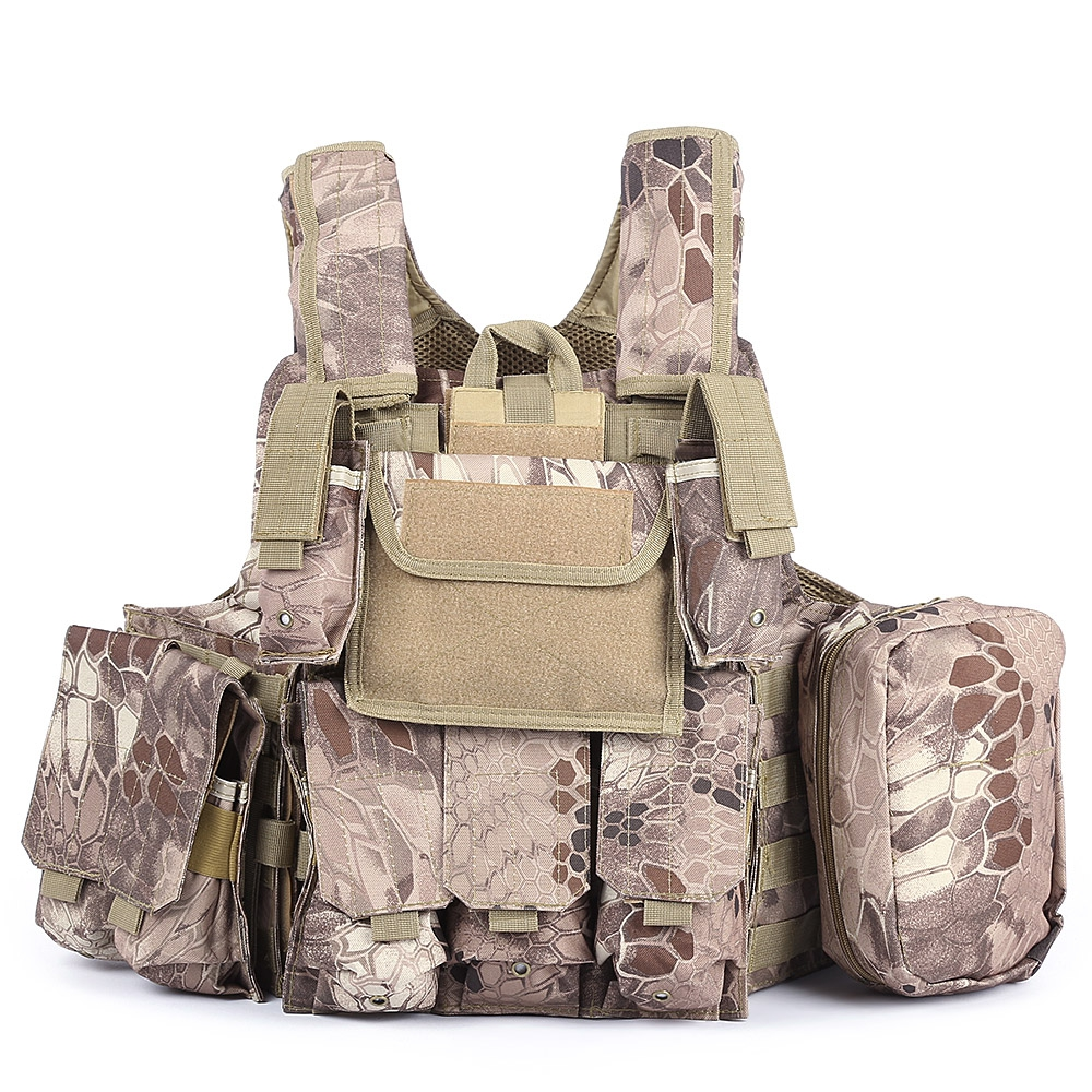 Outlife Phantom tactique militaire grève Combat Airsoft Molle balle assaut plaque transporteur gilet léger confortable - 6