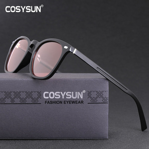 Image 2 - Brand Photochromic Sunglasses Women Luxury Brand Designer Polarized Sunglasses Chameleon Vintage Light adaptive Sunglasses Woman