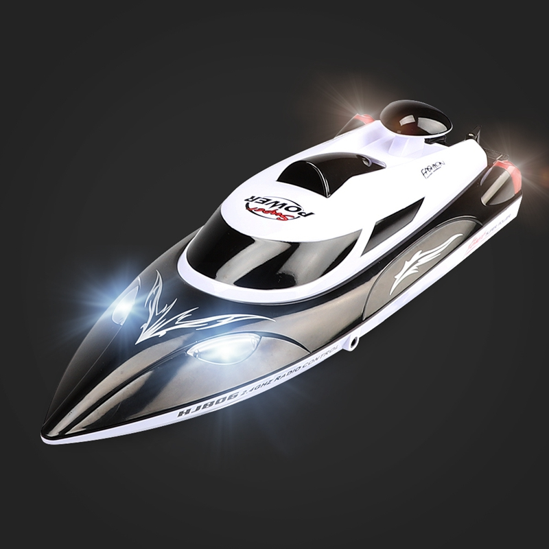 HJ806 RC Boat 2.4GHz Remote Control High Speed RC Electric Boat Up to 35km/H 4Channel Racing Remote Control Toy Gift lcll rc boat radio remote control twin motor high speed boat rc racing toy gift for kids eu plug