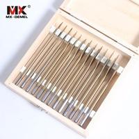 MX DEMEL 13 Pcs Set Flat Spade Drill Bits Set Titanium Coating Wood Boring Bit 1