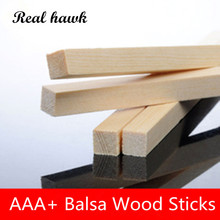 330mm long 16x16 17x17 18x18 19x19 20x20mm square wooden bar aaa balsa wood sticks strips for airplane boat model diy 300mm long 6x8/6x10mm AAA+ Balsa Wood Sticks Strips Model Balsa Wood for DIY airplane model free shipping