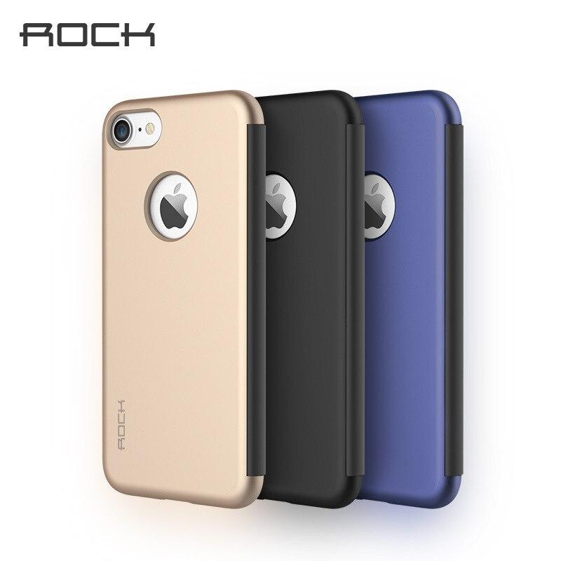 imágenes para ROCA Dr. V Touchable Transparente Elegante de la Caja para el iphone 7 Pantalla Completa Ventana Cubierta Del Tirón para el iphone 7 Más