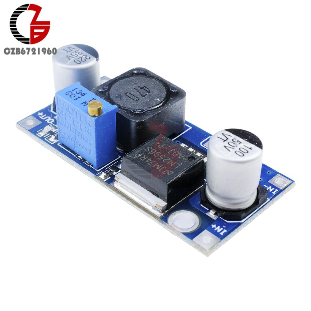 5pc Lm2596 Dc Step Down Adjustable Power Module A459 Lt1074 Stepdown Switching Regulator Linear Technology
