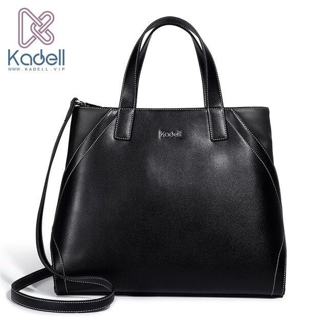 Kadell Для женщин Сумки кожа бренд 2017 бизнес Сумки на плечо искусственная кожа Сумочка дизайнер Bolso высокое качество Для женщин Курьерские сумки