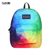 Ou Mo brand laptop anti theft backpack feminina Women school Bag man computer Backpack teenagers Boys/Girls Schoolbag