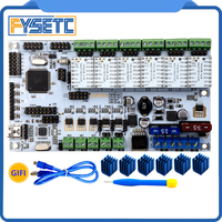 Rumba Plus 3D Printer Start Kits Mother Board Rumba Board With 6pcs TMC2130 V1 0 Stepper