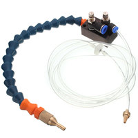 1Pcs New 8mm Air Pipe Mist Coolant Lubrication Spray System For CNC Lathe Milling Drill Grind