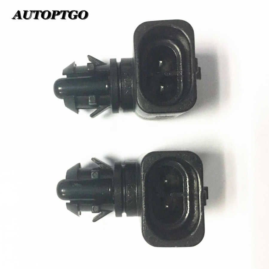 Autoptgo 25775833 Intake Air Temperature Sensor OEM-Ambient For Buick Cadillac Chevrolet GMC Pontiac Hummer