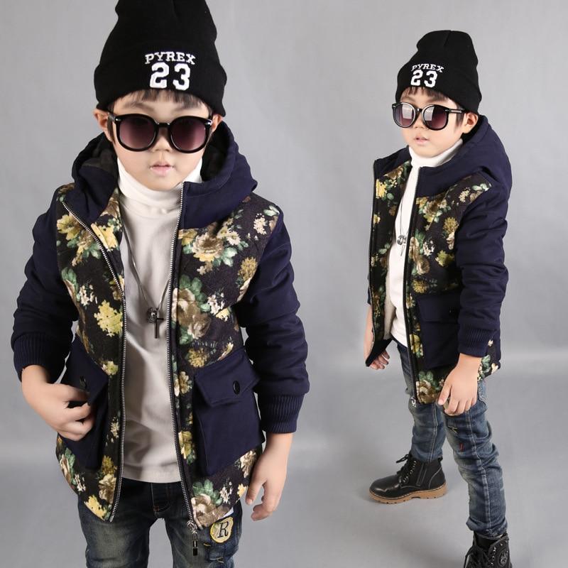 2016 New Winter Wear Cotton Padded Jacket Korean Boythick Warm Coat Fashion Winter Duck Down Parka