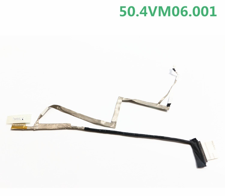 New laptop LCD cable for Acer aspire V5 V5-531 V5-571 V5-571G V5-531g V5-471 V5-471G V5-431 P/N 50.4VM06.002 50.4VM06.001  laptop hinge for acer aspire v5 v5 131 v5 171 aspire one 756 left