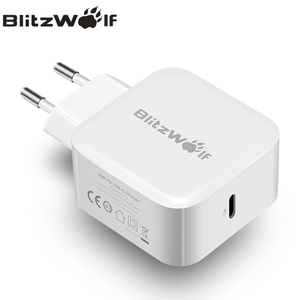 Image 2 - BlitzWolf USB Type C PD 30W Fast Charging Mobile Phone Wall Travel Charger Adapter For iPhone 11 Pro X Max Macbook Smartphone