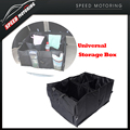 Black Oxford Cloth Car Trunk Storage Box Car Organize Backseat Storage for Car Truck or SUV, Perfect Car Organizer for all Cargo