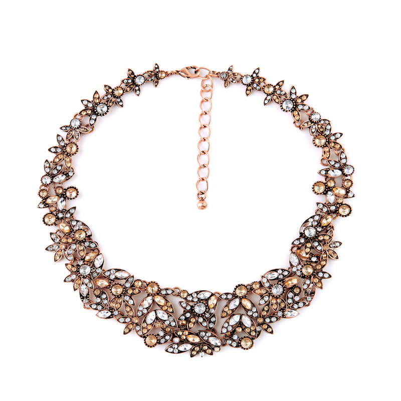 High End Evening Dress Match Gorgeous Necklace For
