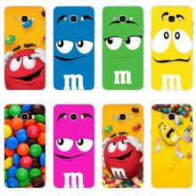 Cute M&M's Chocolate Nutella Bottle Mobile phone cover for Samsung Galaxy S6 S6edge S6Plus A7 S7edge S8 S9 J5 J7 2016 TPU(China)