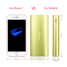 Yoobao 18650 Power Bank For Xiaomi 13000 mAh Fast Charge PowerBank Portable Charger External Battery Poverbank For iPhone 8 7 X