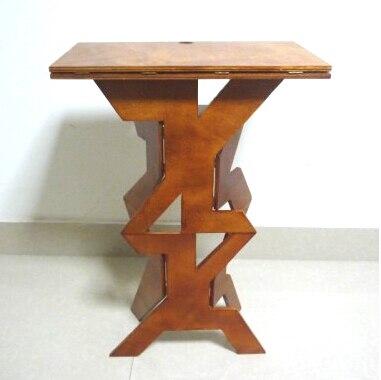 Pro Деревянный Складной Magic стол Профессиональный мага Best стол этапе Magie иллюзии Интимные аксессуары трюк реквизит легко носить с собой