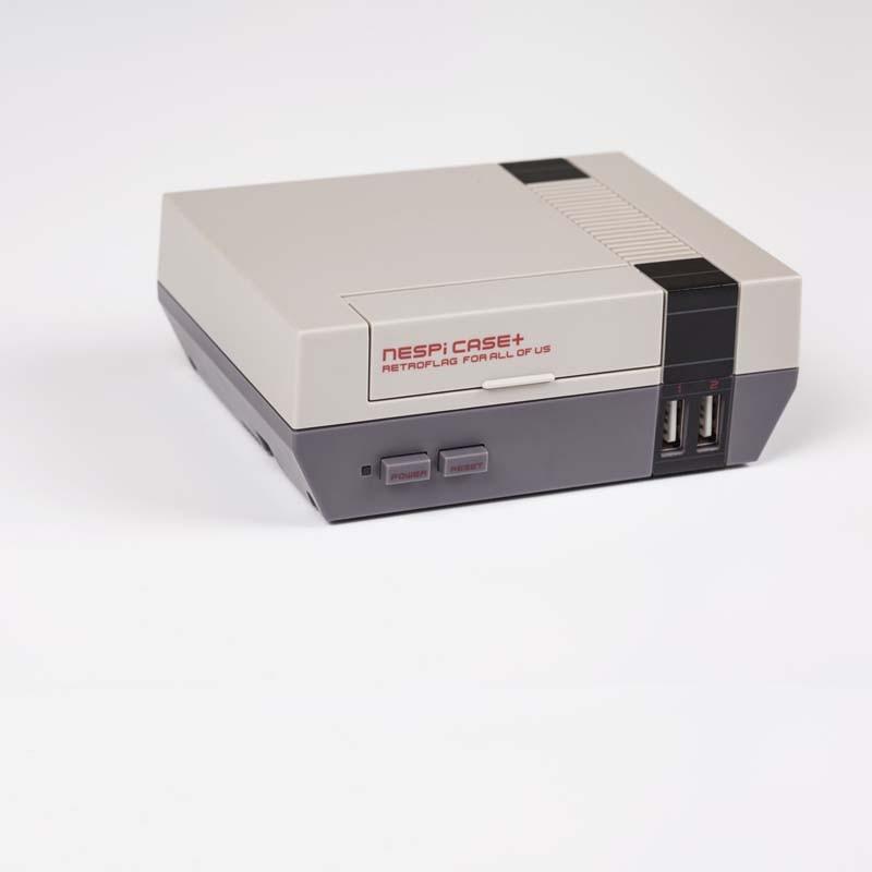 New Version NESPI CASE+ Plus Raspberry Pi 3 Model B+ Classical NES Style Case Game Console For Raspberry Pi 3/3B+/2B