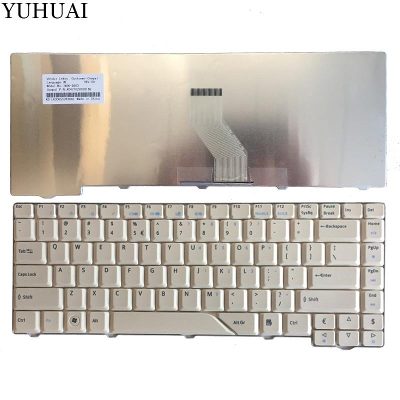 New Keyboard for Acer Aspire 5715 5715Z 5720G 5720Z 5720ZG 5910G 5920Z 5920G 5920ZG 5930G 5950G 5730 5730Z US laptop keyboard new us keyboard for acer aspire vn7 793g vx5 591g vx5 591g 52wn us laptop keyboard with backlit