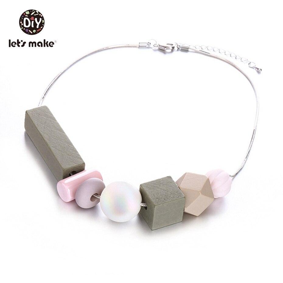 Wooden beads Pendant Nurse Necklace Ins Style New pearl Accessories Girls Pumpkin Beads Halloween Nusing Pendant