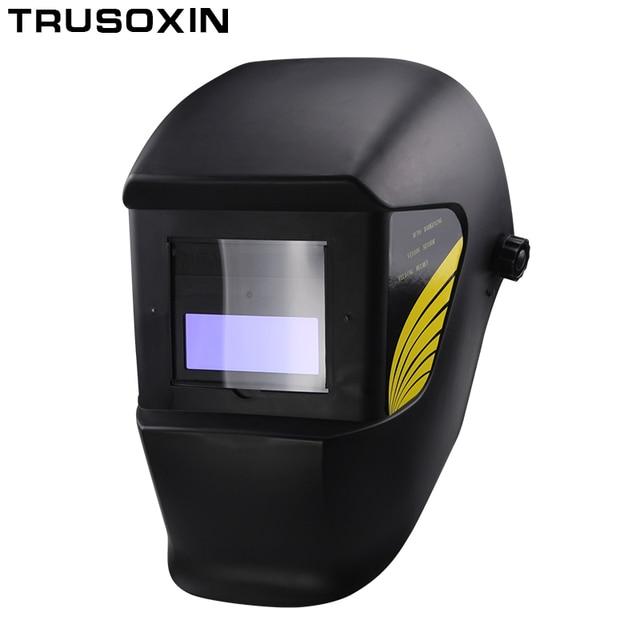 Auto Escurecimento Sombreamento Máscara De Solda Capacete Cap Soldador  Soldador para Operar o 84dafad4fe