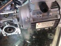 NMRV030 worm gear reducer / YS6324 / 0.18KW / aluminum alloy three 380V / 220V motor