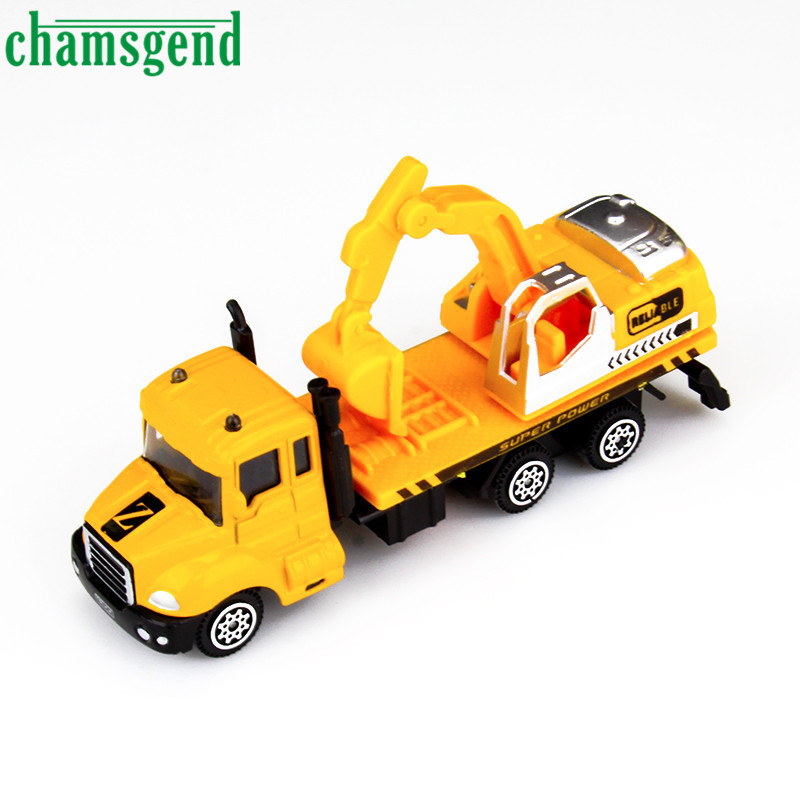 HOT THE Mini Alloy Car Excavator Suitable For Children Play YW Levert Dropship Oct 07