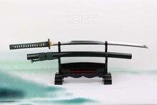 Top Quality Handmade Katana 1095 Clay Tempered High Carbon Steel Blade Real Samurai Sword
