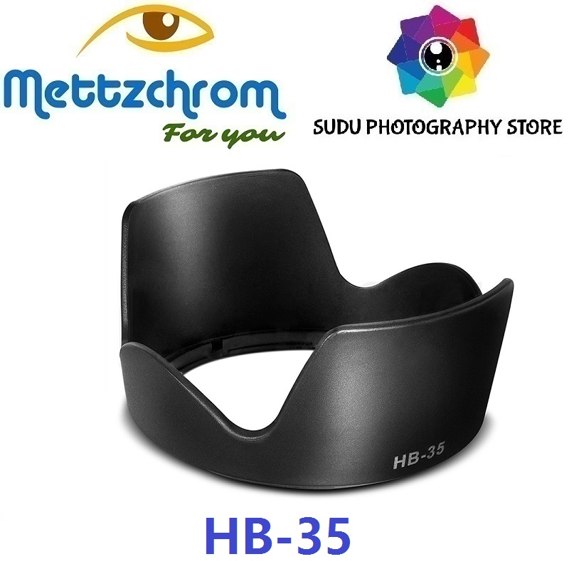 HB35 HB-35 Lens Hood for <font><b>Nikon</b></font> AF-S <font><b>18</b></font>-<font><b>200mm</b></font> F3.5-5.6G ED-IF VR DX Lens New image