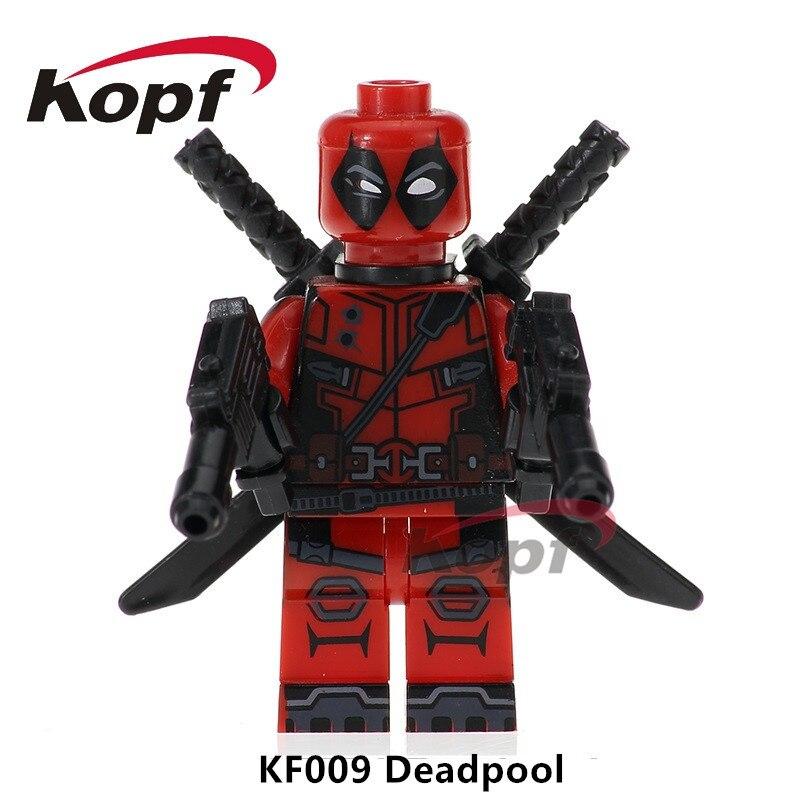 Single Sale Building Blocks Super Heroes Infinity War Deadpool 2 Cable Hulkpool Hulk Peter Domino Children Toys Gift KF009